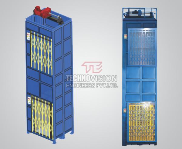 Vertical Reciprocating Conveyors Manufacturer-Technovision
