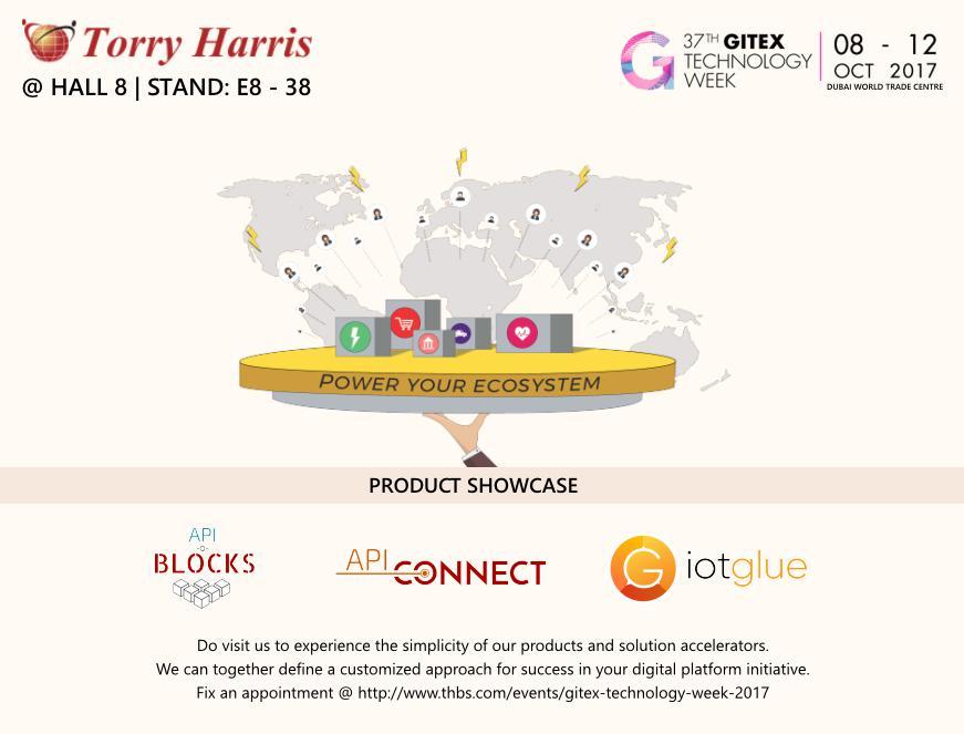Meet Team Torry Harris at GITEX Technology Week in Dubai