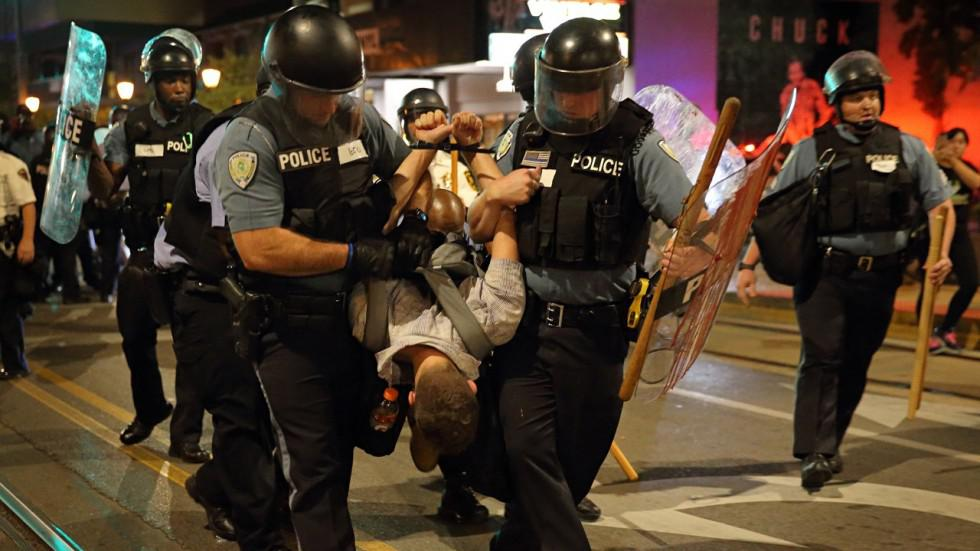 Riots in St. Louis, MO
