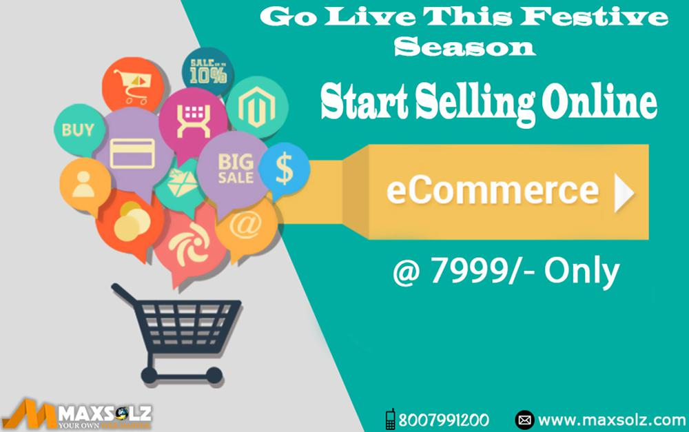 Create your Online Store @ INR 7999/- only