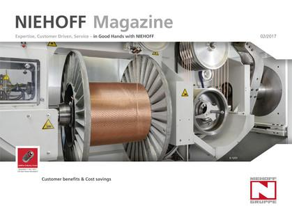 The cover page of NIEHOFF Magazine 2/2017