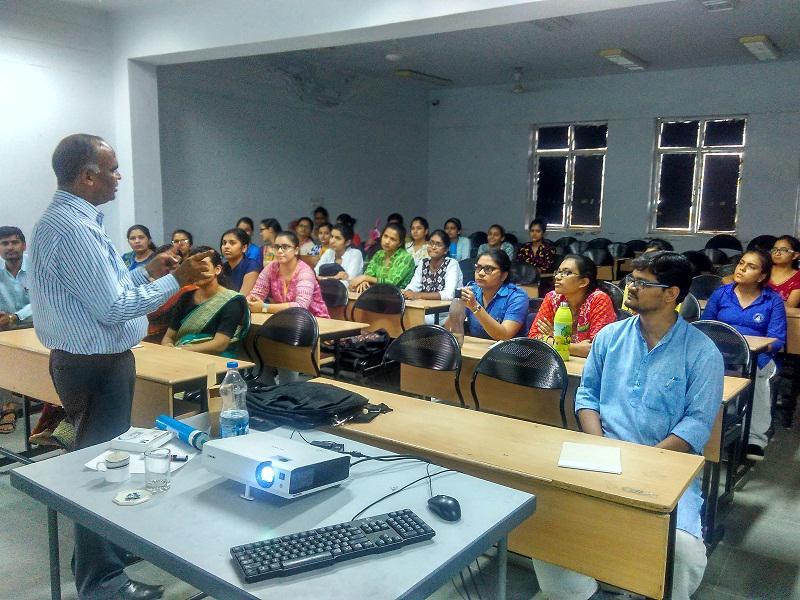 MNIT Jaipur Prof SP Chaurasia Talk on Separation Technologies for Water Purification at Banasthali