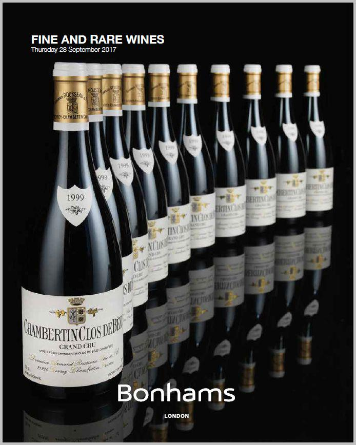 Bohams Wine Auction 28 Sept 2017 22 New Wine Price Records List