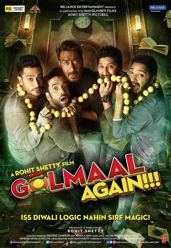 """THE GOLMAAL GANG IS BACK WITH NO LOGIC BUT MAGIC WITH """"GOLMAAL"""
