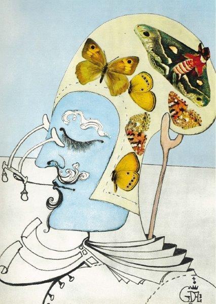 "Salvador Dalís ""Man of the Year 2000"" ©DaliBerlin.de"