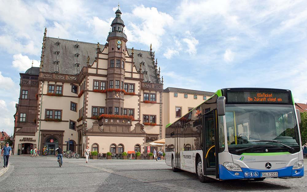 IVU Traffic Technologies supplied Stadtwerke Schweinfurt with the hardware and software for one of the most advanced e-ticketing s