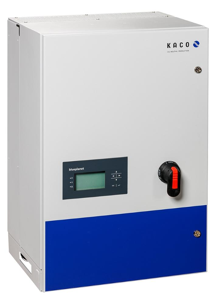 Reactive power for a stable grid: the blueplanet 50.0 TL3 RPonly.
