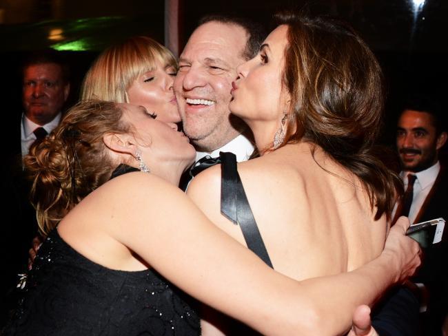 Former Hollywood Mogul Harvey Weinstein