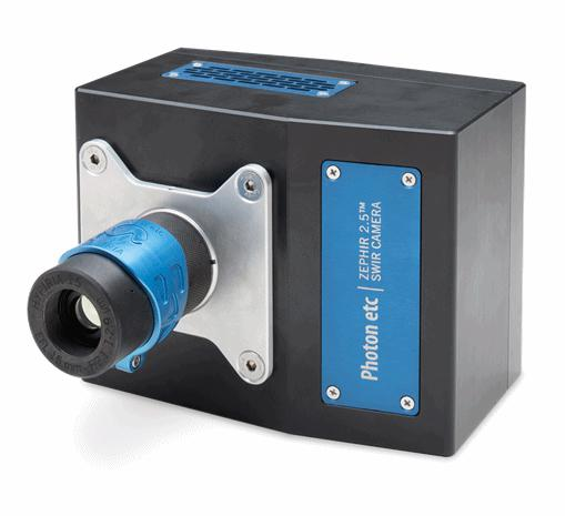 ZephIR 2.5 Camera for demanding applications in science and industry