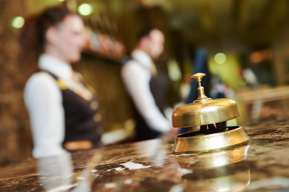 hotel, reception