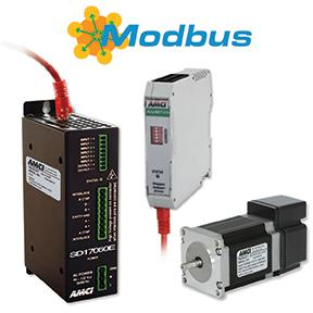 AMCI's Integrated Motion Control Products with Modbus-TCP