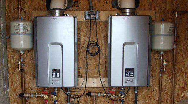 Tankless Water Heaters Market - Modern technology equipment