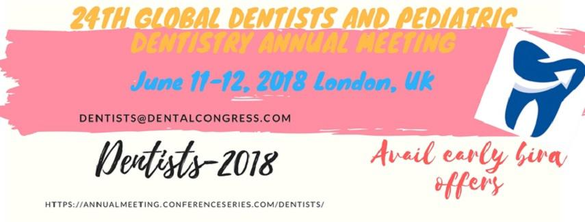 24th Global Dentists and Pediatric Dentistry Annual Meeting