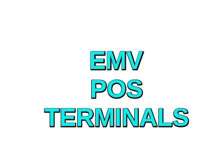 EMV POS Terminals