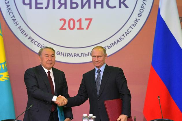 Presidents of Russia and Kazakhstan defined the vector