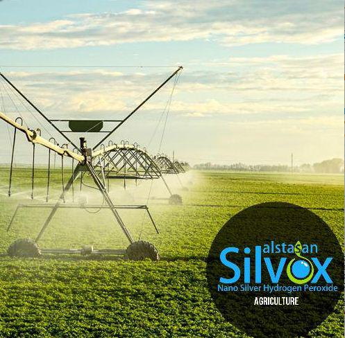 silver hydrogen peroxide based agriculture disinfectant