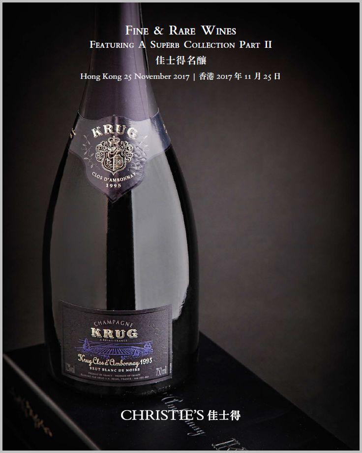 Christie's Wine Auction Hong Kong Catalog Wine-Stocks