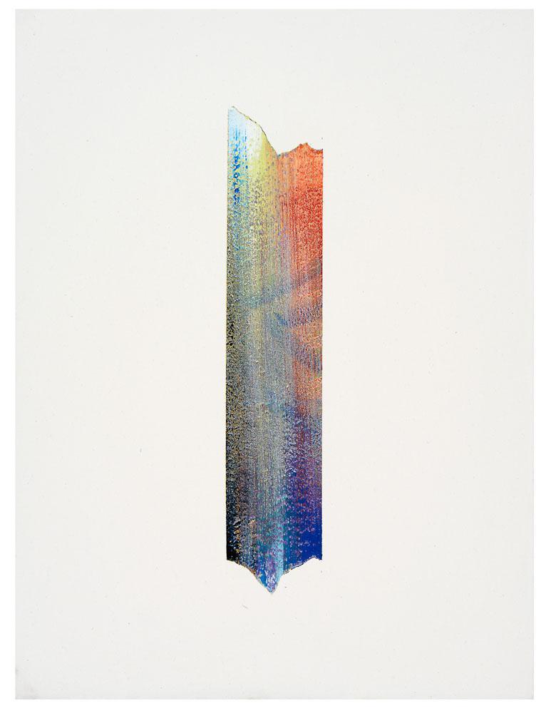 Tino Geiss: Stripe #3, 2015, acrylic on canvas, 60 x 45 cm