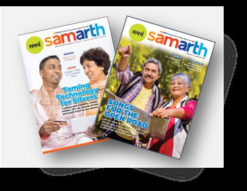 Samarth, India's no 1 magazine for senior citizens