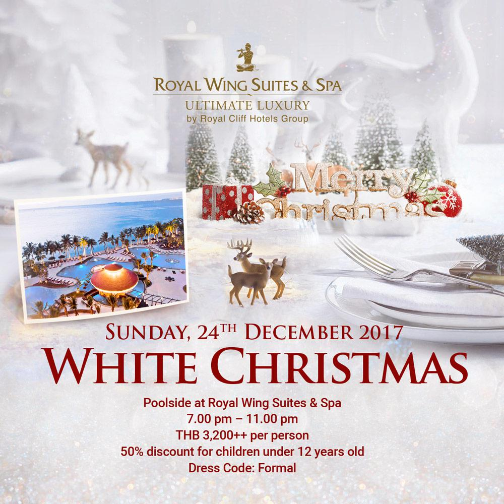 Experience a Wonderful White Christmas Dinner at Royal Wing