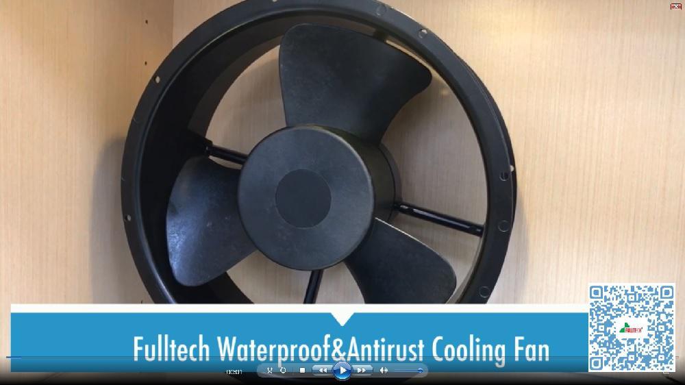 antirust cooling fan