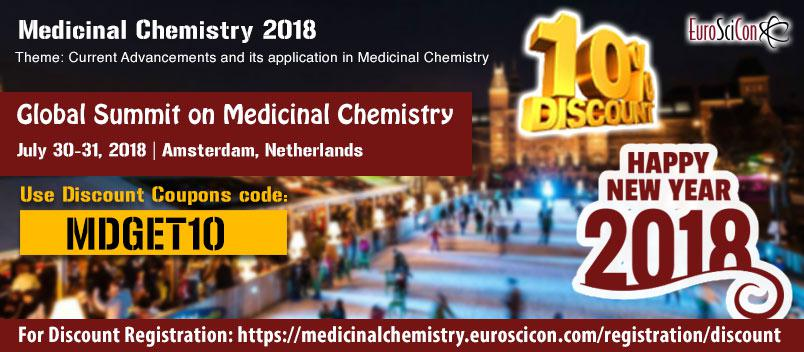 Invitation to speak/attend Global Summit on Medicinal Chemistry 2018, on July 30-31,2018 at Amsterdam, Netherlands