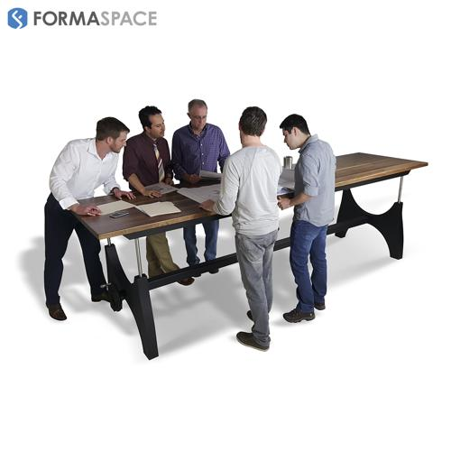 Formaspace Height Adjustable Conference Table