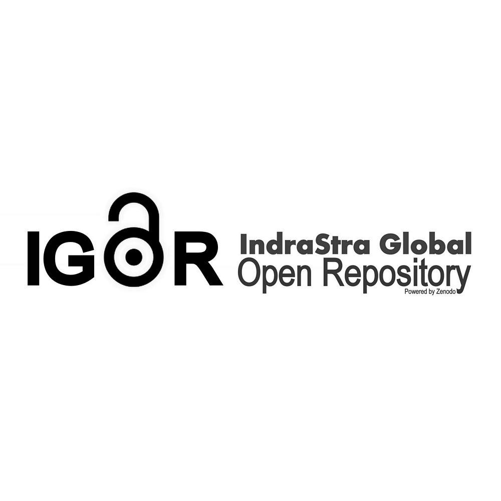 The Logo of IGOR - IndraStra Global Open Repository