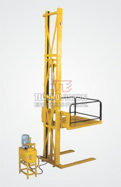 Hydraulic Goods Lift - Leading Manufacturer of Goods Lift,