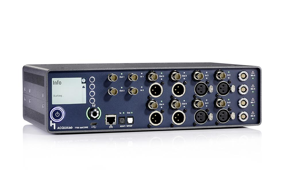 labCORE is the modular multi-channel front end for precise and efficient voice and audio quality measurements