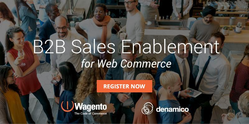 B2B Sales Enablement in Web Commerce
