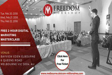 Free Digital Marketing Masterclass in Melbourne