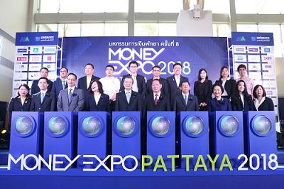 Money Expo Pattaya 2018 Successfully Held at Award-winning