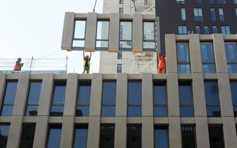 Precast Concrete Market - Reusable Concrete Designing a Smarter