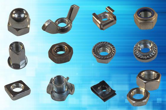Nuts from Challenge Europe - reaching the parts threaded holes cannot reach