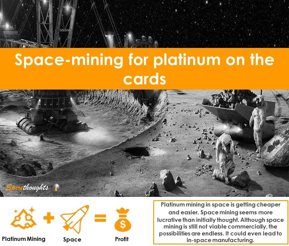 Spire, Spirethoughts, Space mining, Investment, Spacecraft, In-space manufacturing, Market