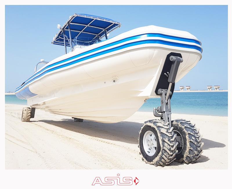 ASIS 4WD Amphibious craft