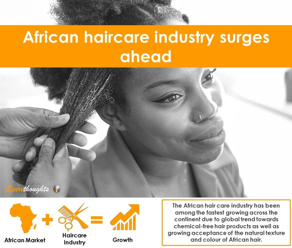 Spire, Spirethoughts, Africa, Hair care, Industry, Growth, Trend, Products, Price