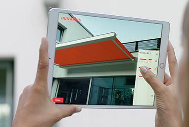 New 3D-augmented reality App simplifies awning purchases