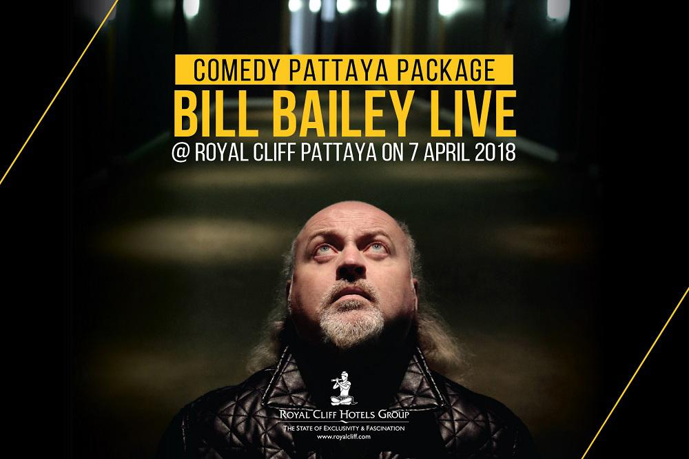 Enjoy a Hilarious Night to Remember with BILL BAILEY LIVE @ ROYAL