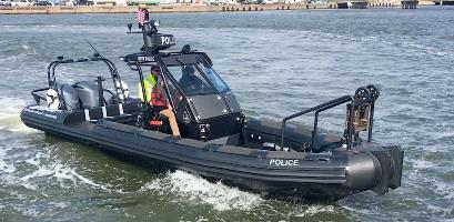 Law Enforcement Rigid Hull Inflatable Boat (RHIB)