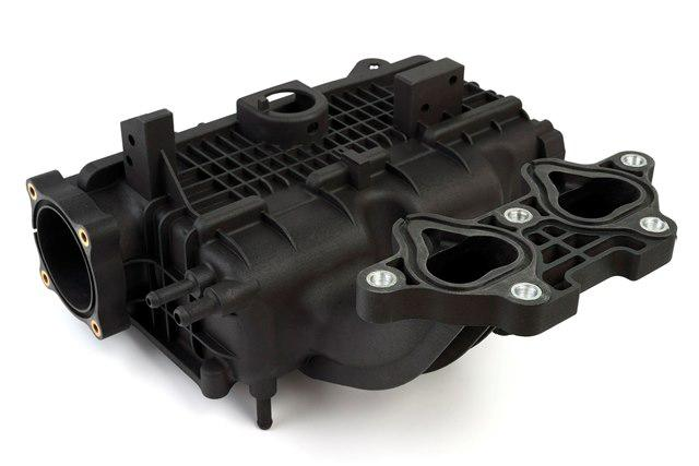 3D printed intake manifold functional prototype made of Windform SP