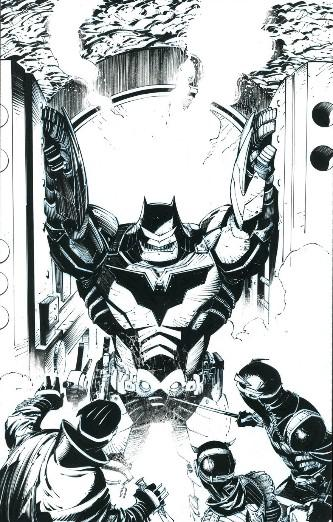 Greg Capullo - Batman 'Court of Owls' ? Issue 8 ? Page #20