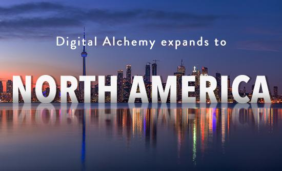 Digital Alchemy Expands to North America