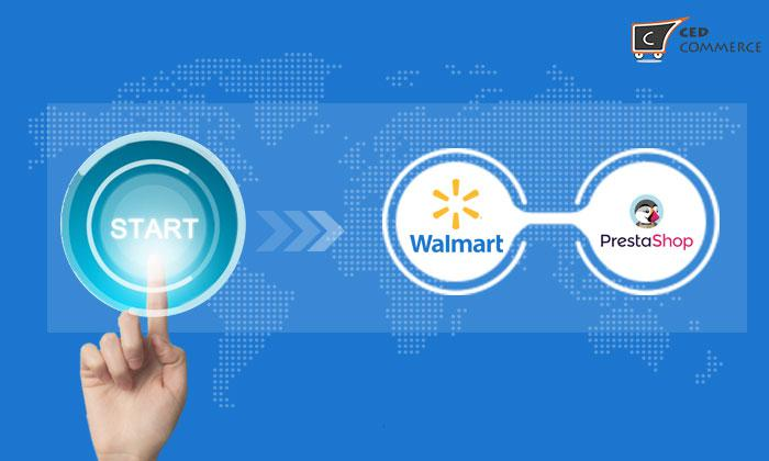 PrestaShop Addons Marketplace has made available Walmart -- PrestaShop Integration Module by CedCommerce.