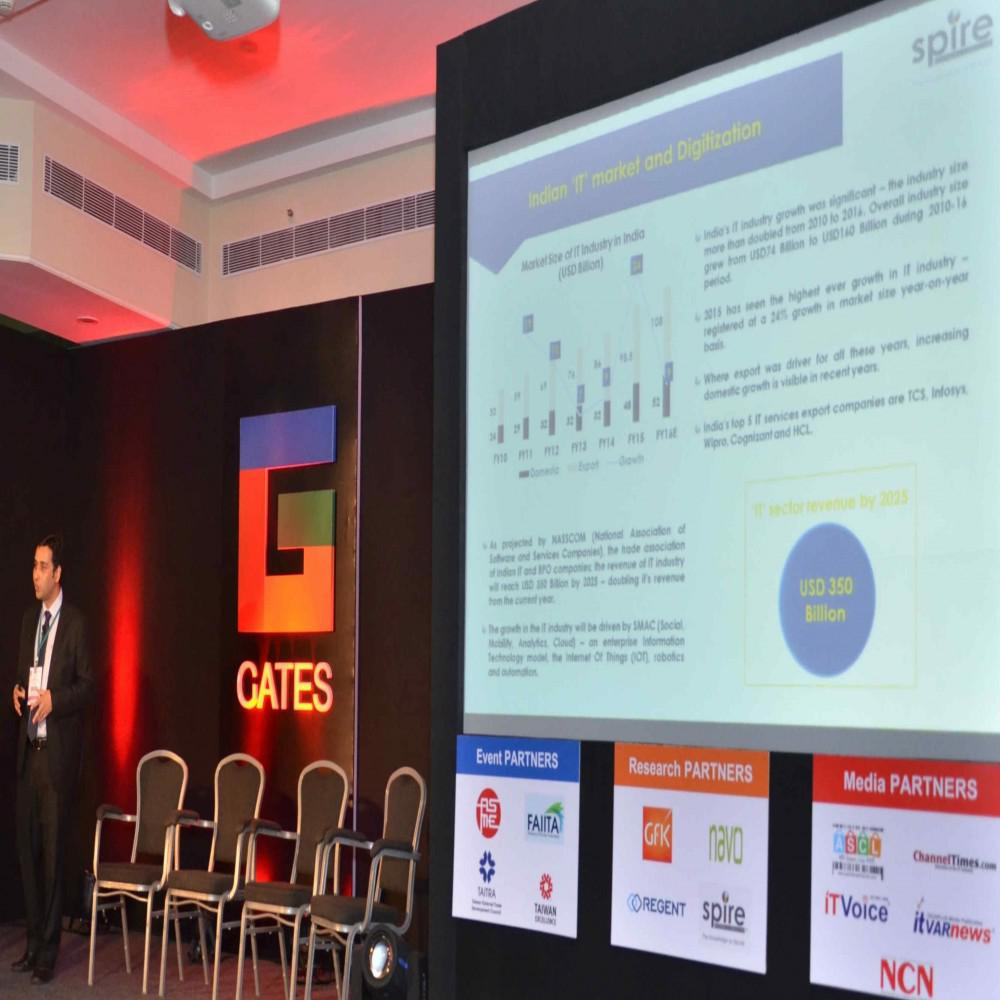 Spire, Events, Saurabh Sharma, India, E-commerce, GATES India ICT Reseller Channel Summit 2017, Growth, VARs, SIs, SME market,