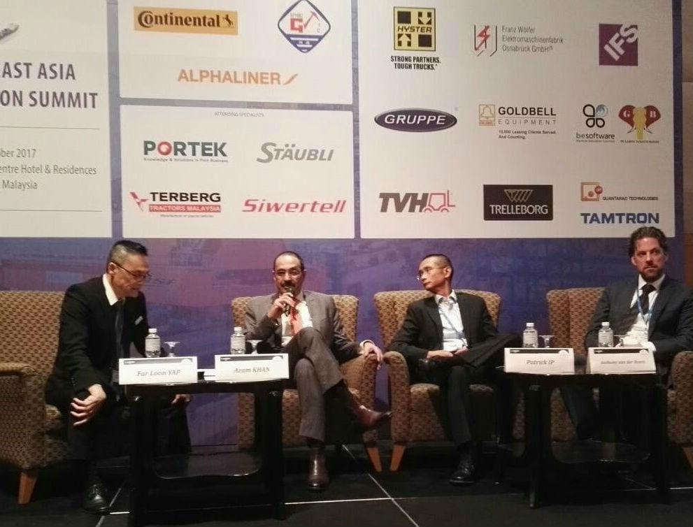 Spire, Events, Yap Far Loon, 4th SEA Port Expansion Summit 2017, Public Private Partnerships, Investment, Responsibility, Finance