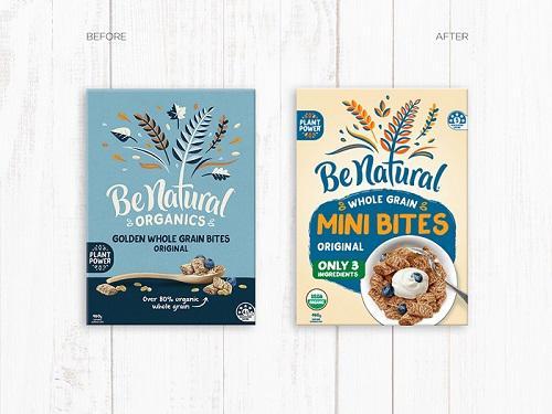 Be Natural – Mini Bites Packaging Refresh