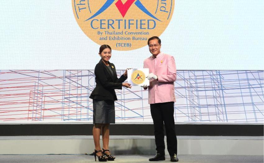 PEACH Awarded Prestigious Thailand MICE Venue Standard