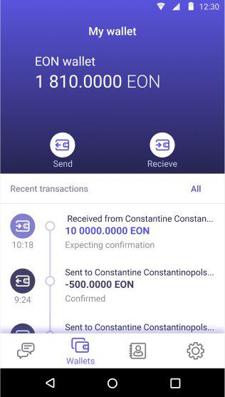 Exscudo launches the first app to combine crypto wallet